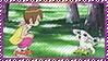 Hikari x Tailmon Stamp by L3xil3in