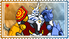 Omnimon Stamp by L3xil3in