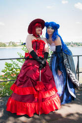 Red and Blue by L3xil3in