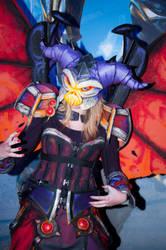 Malefic Warlock by L3xil3in