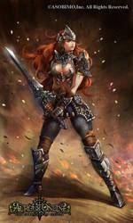 Aurcus Online Swordman by HiroUsuda