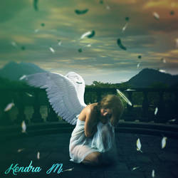 Angel Pain - Fotomanipulacion by kendra19082002