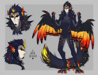 Cockatoo Harpy [Adopt AUCTION] closed by BeSSeB
