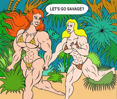 Let's go savage by loenror