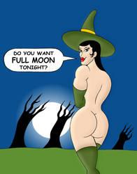 Lang Halloween Full Moon by loenror
