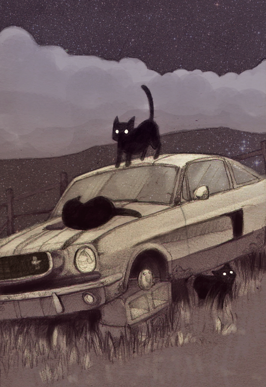 Car Illustration by ParaAbduction51