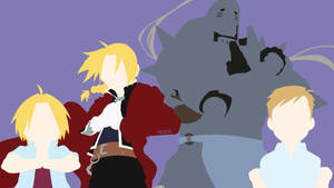 Elric Brothers from Fullmetal Alchemist|Minimalist by matsumayu