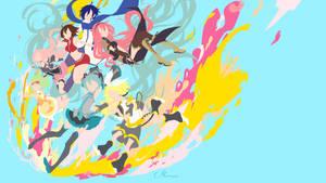 Vocaloid Team by matsumayu