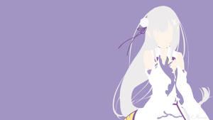 Emilia from Re:Zero by matsumayu