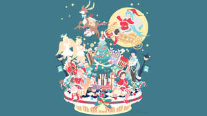 Vocaloid Christmas by matsumayu