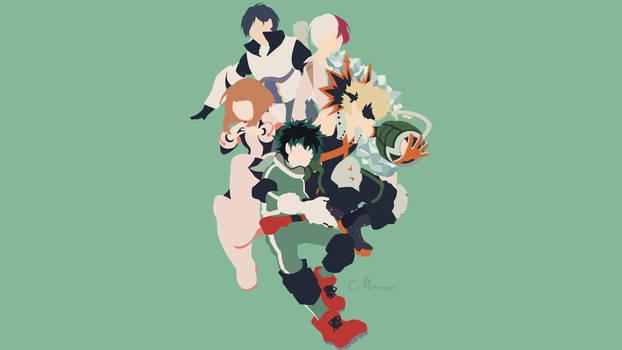 Boku no Hero Academia by matsumayu