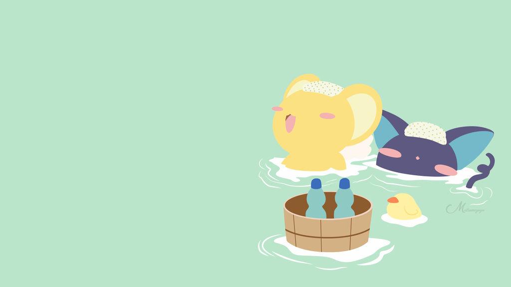 Keru and Spinel from Cardcaptor Sakura by matsumayu