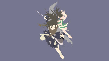 Dororo and Hyakkimaru from Dororo by matsumayu