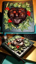 Nog - A Winter Goblin. by the-tenebrus
