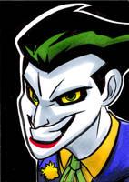 Joker by joshuadraws
