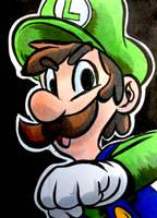 Luigi by joshuadraws