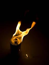 Heavy metal fire drink by alovelyfeeling