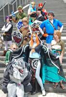 Zelda Cosplay Group by kwills84