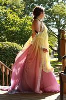 Padme Lake Dress cosplay by kwills84