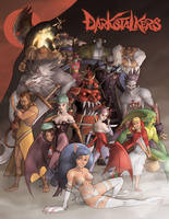 REJECTED Darkstalkers Tribute by wannabegeorge
