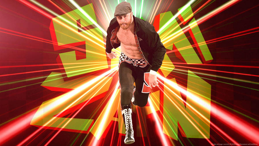 Wwe Superstar Sami Zayn Wallpaper By Lstareditions By Lstareditions