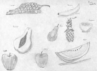 Still Life - Fruit by stoner41