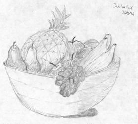 Still Life - Fruit Bowl by stoner41