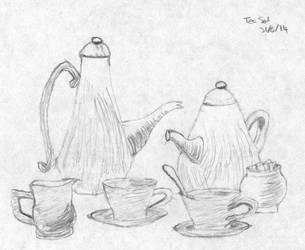 Still Life Tea Set by stoner41