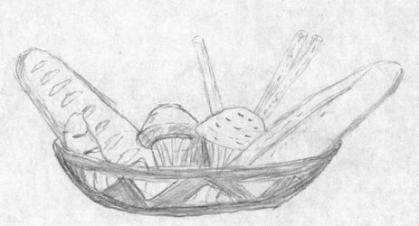 Still Life Bread Basket by stoner41