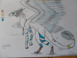 Ayale - the Angleic Dragon by XOnyksaX