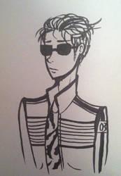 i've only drawn mikey twice wtf by baetakids
