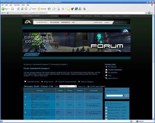 EA CNC3 Forum skin v2 by Alex05