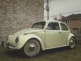 VW Beetle 1963 by itifonhom