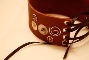 Steampunk Bracelet by OcularFracture