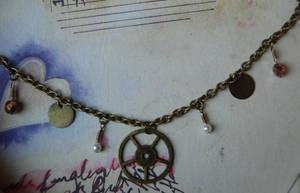 Steampunk Charm Bracelet by OcularFracture
