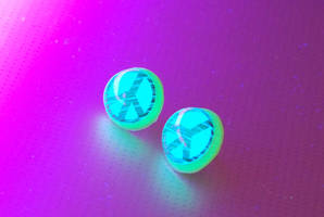 Electric Awesome UV Earrings by OcularFracture