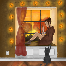 Feelings of Fall by OcularFracture