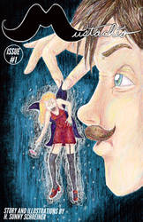 Mustachio Comic Book Cover by OcularFracture