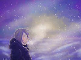 Freezing in a winter wonderland by OcularFracture