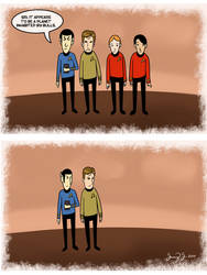 Planet of Whered the Red Shirts Go? by OcularFracture