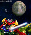 sword mazinger by davediamante