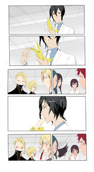 Noblesse: Rai and banana by Sawitry