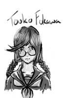 Touko Fukawa by DarknessAppend