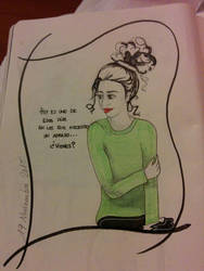 sketch by Arasdreams