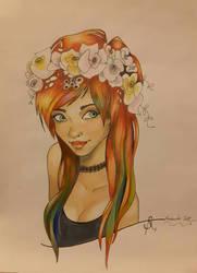 Coloured Hair by Arasdreams