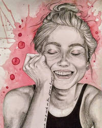 You make me smile by Arasdreams