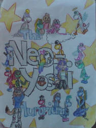 Neo Yoshi Aurorium Group Pic by DyamondSilverfyre
