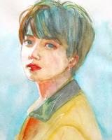 Euphoria Jungkook by Jiayi-art