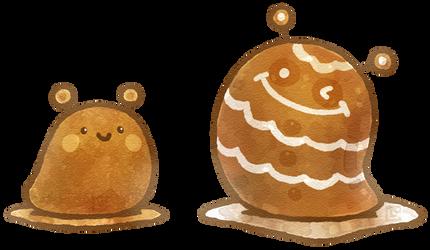 Cookie Oozies by Louivi