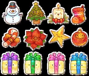 Happy Christmas Things by Louivi